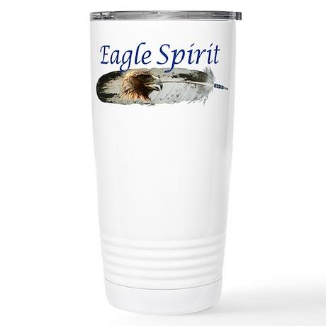 Eagle Spirit Stainless Steel Travel Mug