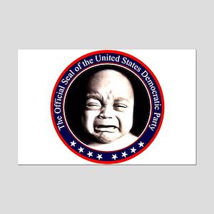 Democrat Seal Mini Poster Print