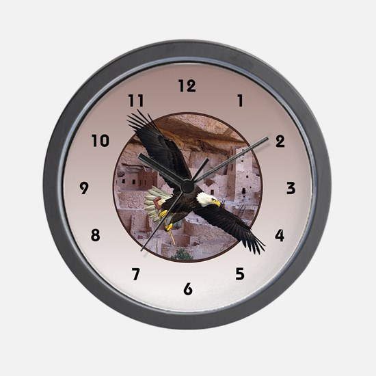 Mesa Verde Monarch Wall Clock