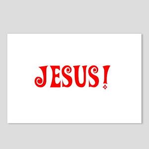 Jesus! Postcards (Package of 8)