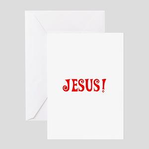 Jesus! Greeting Card