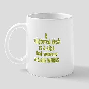 Green Working Mug