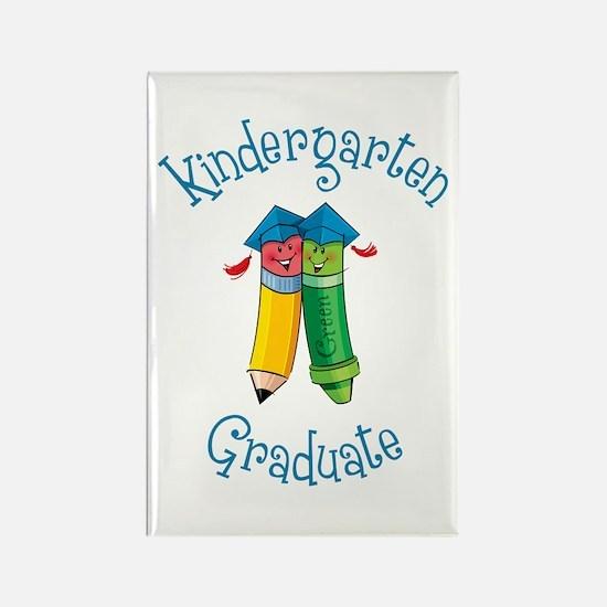 Cute Kindergarten graduation class Rectangle Magnet