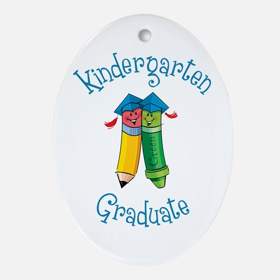Cute Cute graduation Oval Ornament