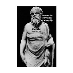 Socrates: Ancient Greek Philosopher: Idle Wisdom