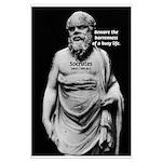 Socrates: Wisdom & Leisure Beware Barren Busy Life