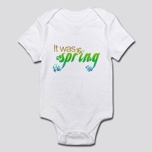 """It Was Spring"" Infant Bodysuit"