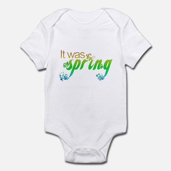 """It Was Spring"" Infant Bodysuit"