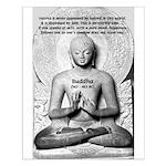 Buddha Pure Mind Happiness Hatred Poster