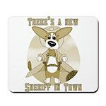 Sheriff Corgi Mousepad