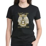 Sheriff Corgi Women's Dark T-Shirt