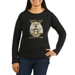 Sheriff Corgi Women's Long Sleeve Dark T-Shirt
