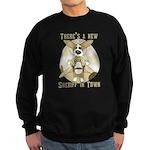 Sheriff Corgi Sweatshirt (dark)