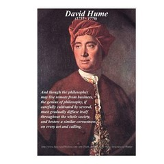 David Hume Philosophy Postcards (Package of 8)