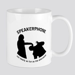 """Speakerphone"" Mug"