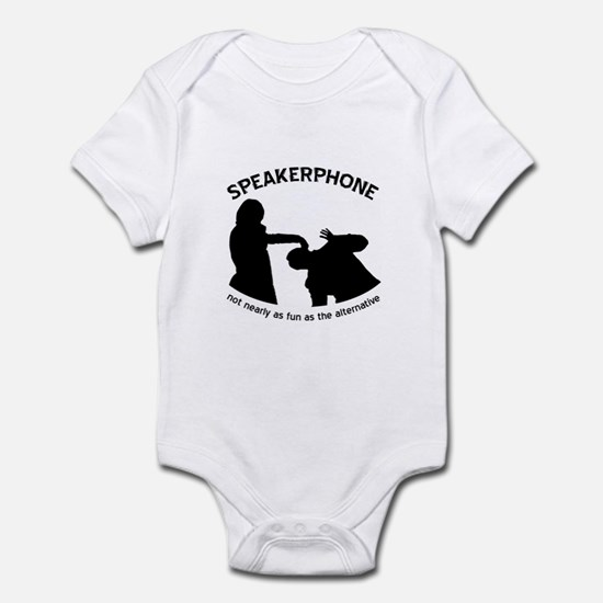 """Speakerphone"" Infant Bodysuit"