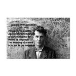 Ludwig Wittgenstein: Meaning of Word Quote Picture