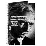 Philosopher Bertrand Russell Journal