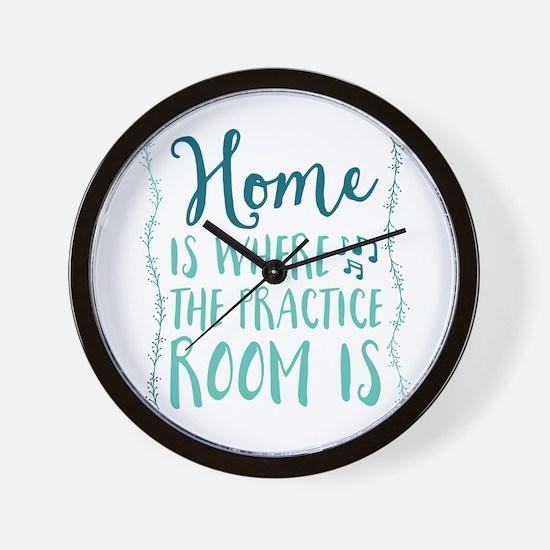 Practice Room Wall Clock
