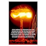 Atomic Bomb: Robert Oppenheimer Bhagavad Gita