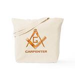 Woodworking Mason Tote Bag
