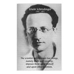 Erwin Schrodinger: Truth Postcards (Package of 8)