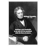 Michael Faraday: Wonderful True Laws of Nature