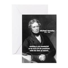 Michael Faraday Greeting Cards (Pk of 10)