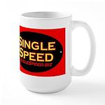 ovalHAT-singlespeedbiz Mugs