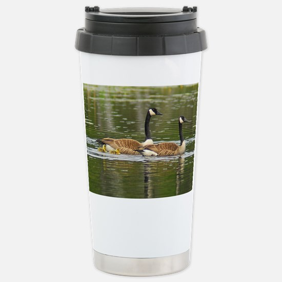 Goose Family Stainless Steel Travel Mug