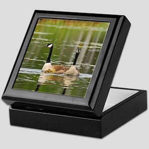 Goose Family Keepsake Box