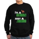 """""""Wiseass, Not Jackass"""" Sweatshirt (dark)"""