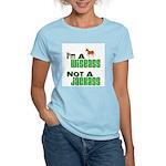 """""""Wiseass, Not Jackass"""" Women's Light T-Shirt"""