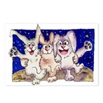 Full Moon Rabbits Postcards (Package of 8)