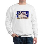 Full Moon Rabbits Sweatshirt