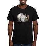 Cracker Men's Fitted T-Shirt (dark)