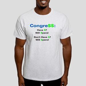 Congress Spends Light T-Shirt