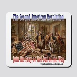 Second American Revolution Mousepad