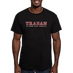 Trazan the Ape Man Men's Fitted T-Shirt (dark)