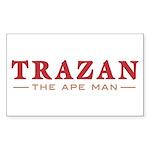 Trazan the Ape Man Rectangle Sticker 10 pk)