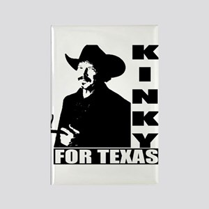 Kinky for Texas Rectangle Magnet