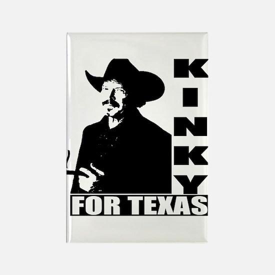 Kinky for Texas Rectangle Magnet