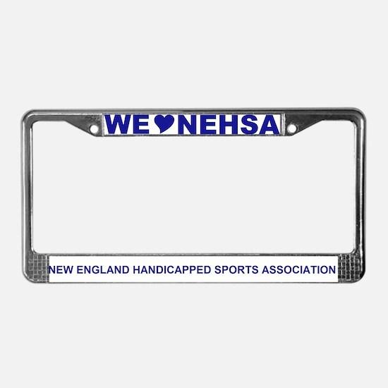 Cute Disabled veteran License Plate Frame