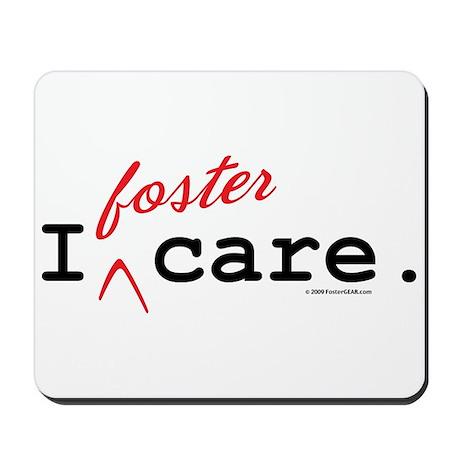 I Foster Care Mousepad