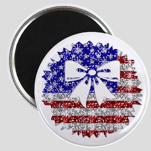 USA Wreath Magnet