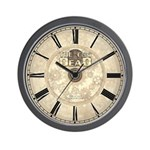 The Cog is Dead Antique Style Wall Clock