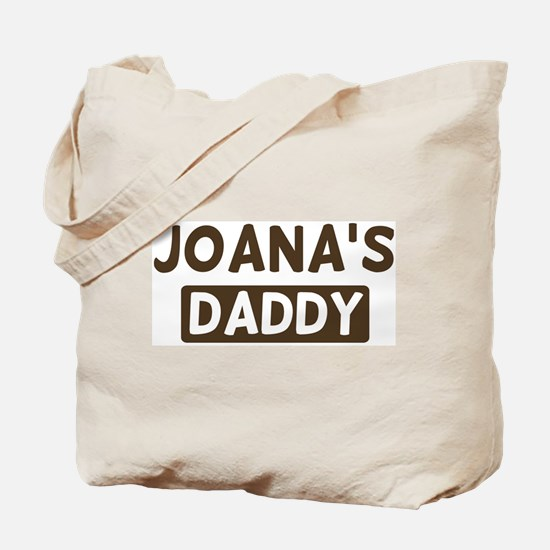 Joanas Daddy Tote Bag