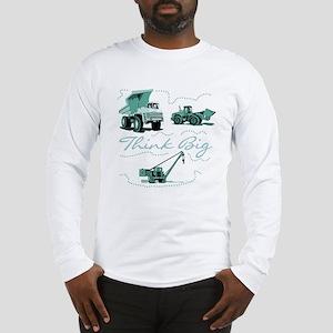 Think Big Construction Long Sleeve T-Shirt