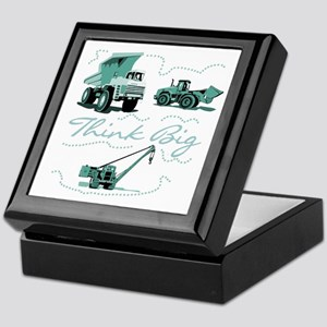 Think Big Construction Keepsake Box