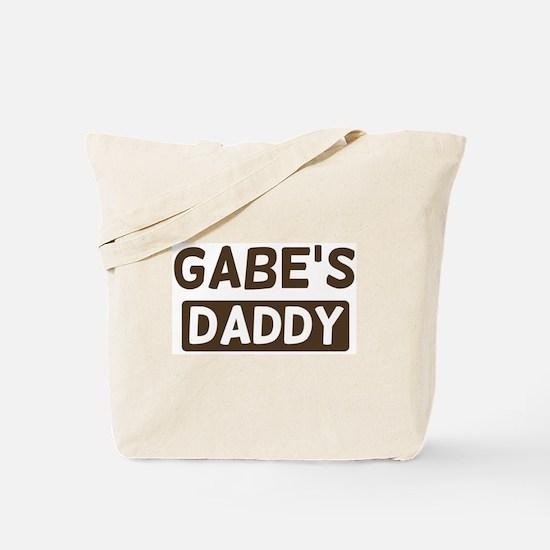 Gabes Daddy Tote Bag
